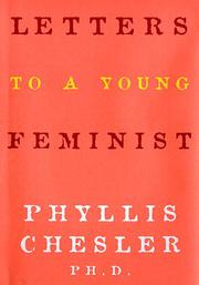 Cover art for LETTERS TO A YOUNG FEMINIST