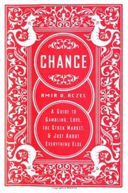 CHANCE by Amir D. Aczel