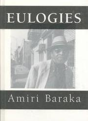 EULOGIES by Amiri Baraka