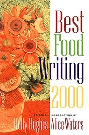 Cover art for BEST FOOD WRITING 2000