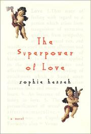 THE SUPERPOWER OF LOVE by Sophie Hannah