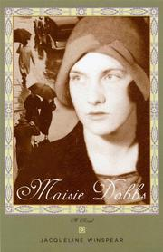 Cover art for MAISIE DOBBS