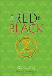 Book Cover for WHEN RED IS BLACK