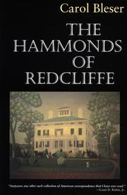 THE HAMMONDS OF REDCLIFFE by Carol Bleser