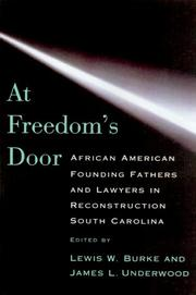 AT FREEDOM'S DOOR by James Lowell Underwood