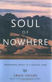 Book Cover for SOUL OF NOWHERE