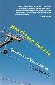 HURRICANE SEASON by Karen Bjorneby