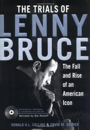 THE TRIALS OF LENNY BRUCE by Ronald K.L. Collins