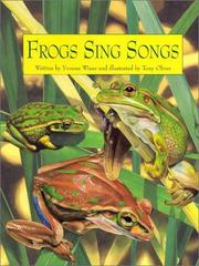Cover art for FROGS SING SONGS