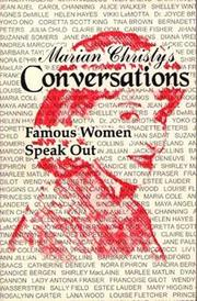 CONVERSATIONS by Marian Christy