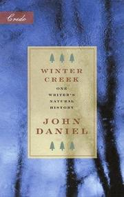 WINTER CREEK by John Daniel