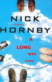 Cover art for A LONG WAY DOWN