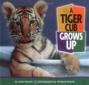 Cover art for A TIGER CUB GROWS UP