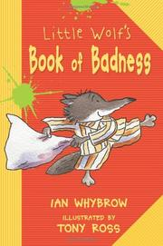 Cover art for LITTLE WOLF'S BOOK OF BADNESS
