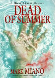 DEAD OF SUMMER by Mark Miano