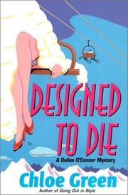 DESIGNED TO DIE by Chloe Green