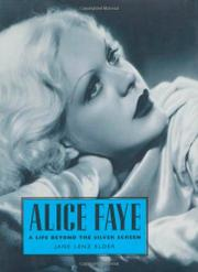 ALICE FAYE by Jane Lenz Elder