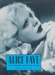 ALICE FAYE by Jane Lenz Elder