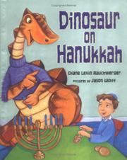 DINOSAUR ON HANUKKAH by Diane Levin Rauchwerger