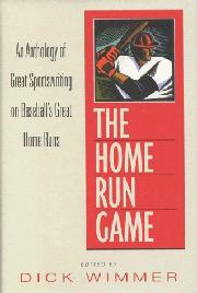 Book Cover for THE HOME RUN GAME