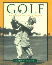 GOLF by Robert R. McCord