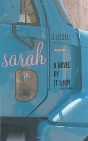 SARAH by J.T. LeRoy