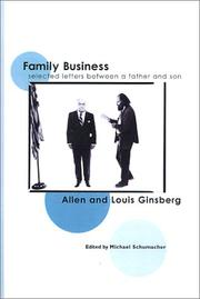 FAMILY BUSINESS by Allen Ginsberg