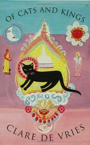 Cover art for OF CATS AND KINGS