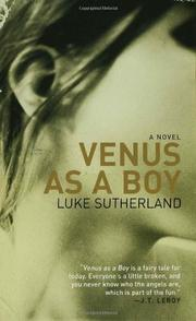 VENUS AS A BOY by Luke Sutherland