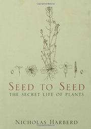 SEED TO SEED by Nicholas Harberd