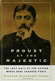 Cover art for PROUST AT THE MAJESTIC