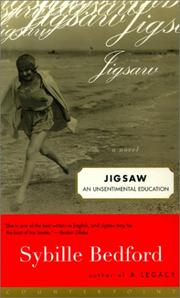 Cover art for JIGSAW