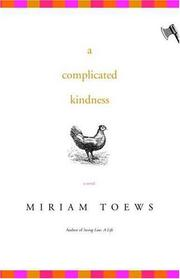 Book Cover for A COMPLICATED KINDNESS
