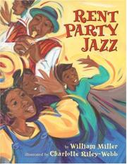 RENT PARTY JAZZ by William Miller