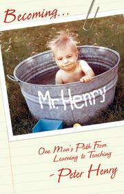 Cover art for BECOMING MR. HENRY
