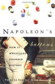 NAPOLEON'S BUTTONS by Penny LeCouteur