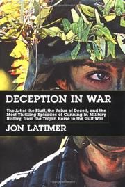 DECEPTION IN WAR by Jon Latimer