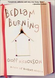 Cover art for BEDLAM BURNING