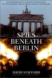 Cover art for SPIES BENEATH BERLIN