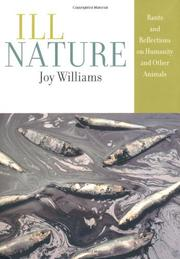 ILL NATURE by Joy Williams