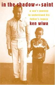 IN THE SHADOW OF A SAINT by Ken Wiwa