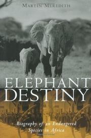 Book Cover for ELEPHANT DESTINY