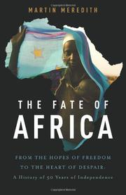 THE FATE OF AFRICA by Martin Meredith