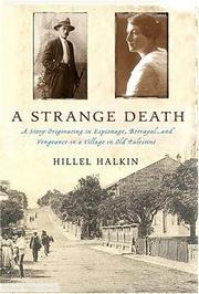 A STRANGE DEATH by Hillel Halkin