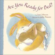 ARE YOU READY FOR BED? by Jane Johnson