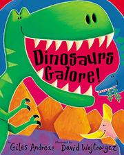 Cover art for DINOSAURS GALORE!