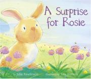Cover art for A SURPRISE FOR ROSIE