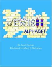 JEWISH ALPHABET by Janet Clement