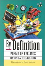 BY DEFINITION by Sara Holbrook