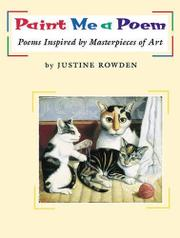 PAINT ME A POEM by Justine Rowden